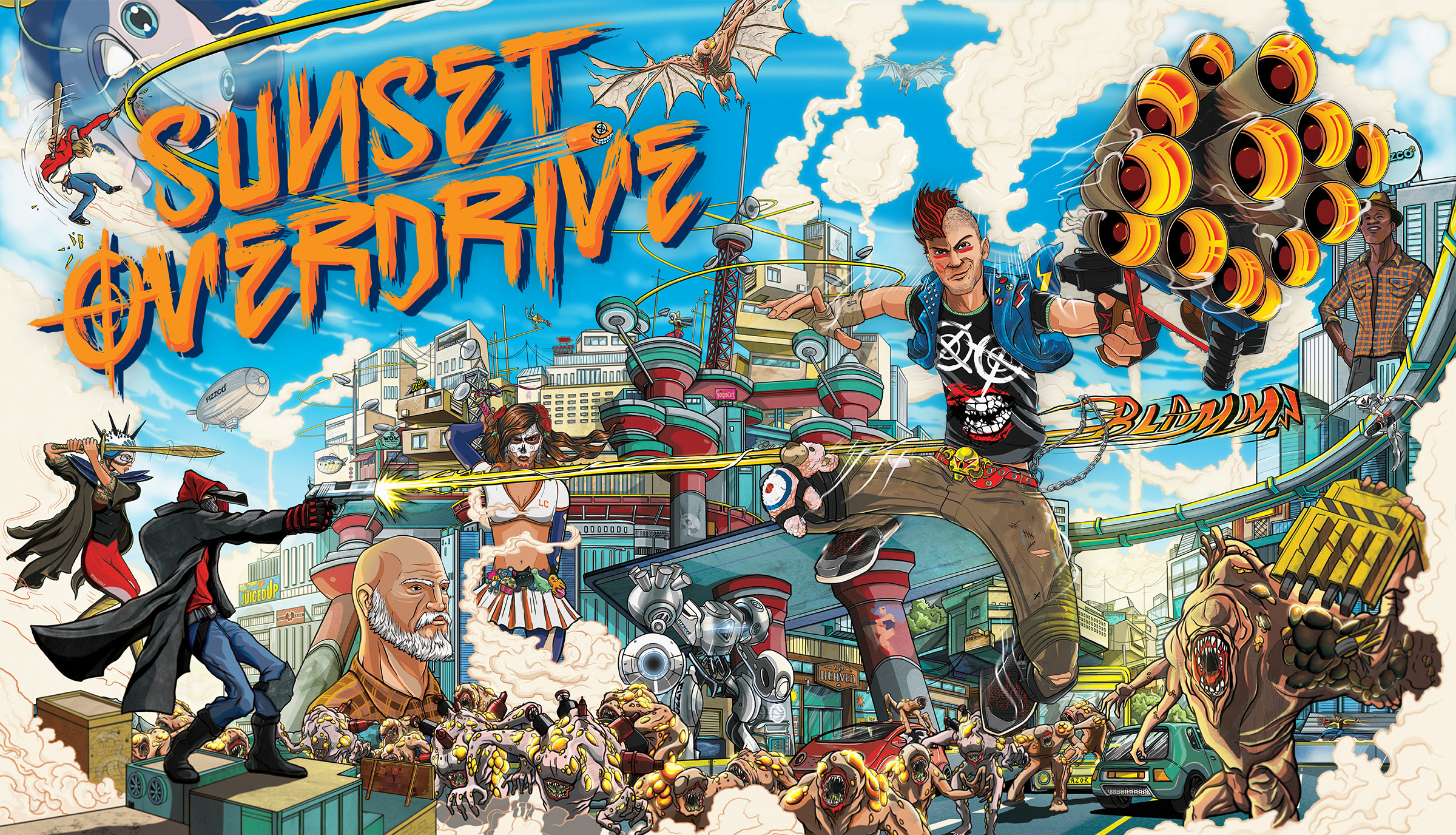 Sunset Overdrive: bringing the fun back to Insomniac Games