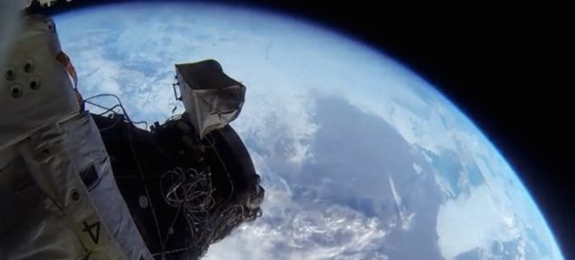 Incredible GoPro footage shows what it's like to spacewalk