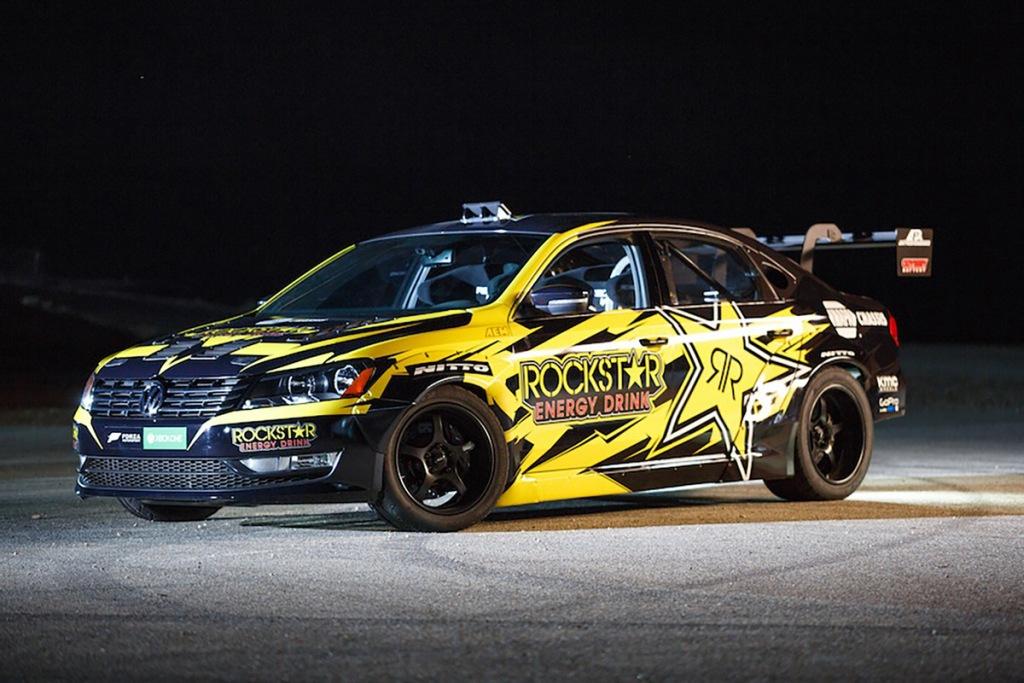 VW Passat, Tanner Foust Passat, Rockstar Energy Passat, Formula Drift, Volkswagen, VW Passat, Motorsport, Drift, Video
