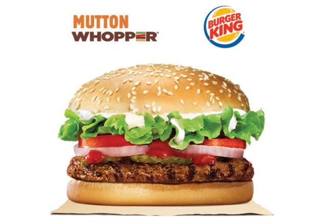 Burger King sta vendendo le balle del montone su eBay