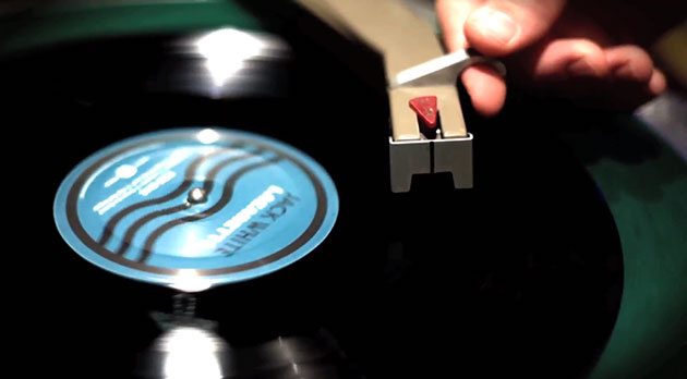 Jack White's 'Lazaretto' vinyl record will play from the inside outward, has secret tracks under the label and an angel hologram