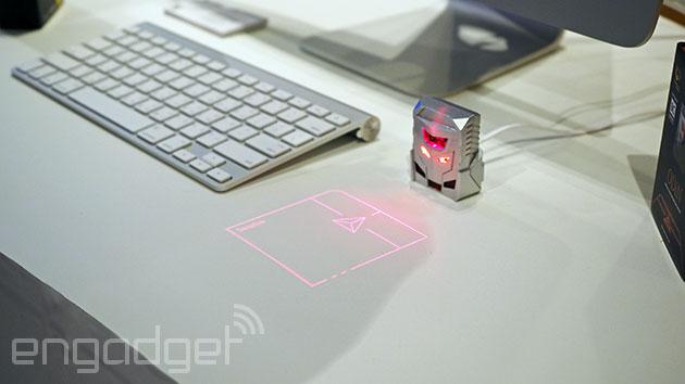 Odin es un trackpad láser que espantará a los roedores