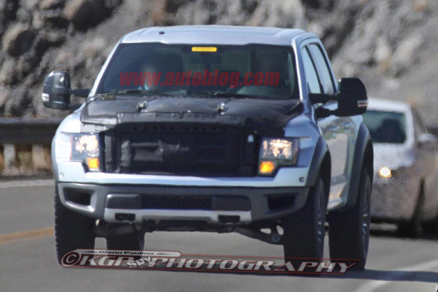Next-Gen Ford Raptor spy shot