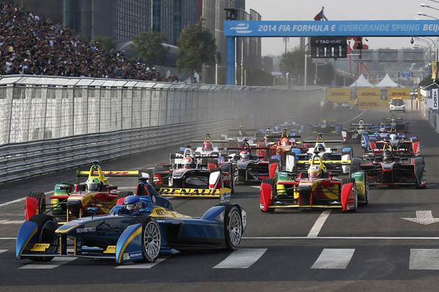 Beijing ePrix kicks off