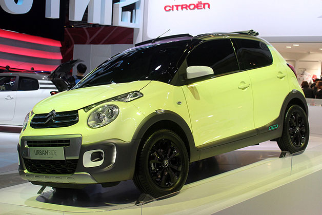 Citroen C1 Urban Ride imagines a more rugged city car