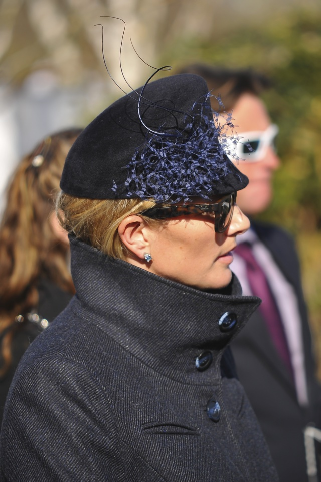 Zara Phillips adds splash of royal glamour to Cheltenham races