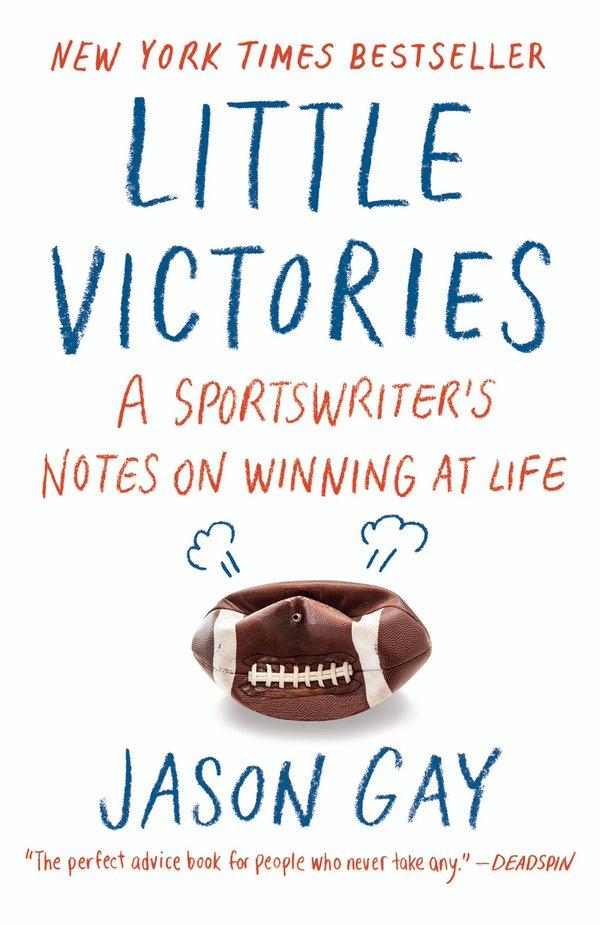 jason gay little victories book, little victories paperback