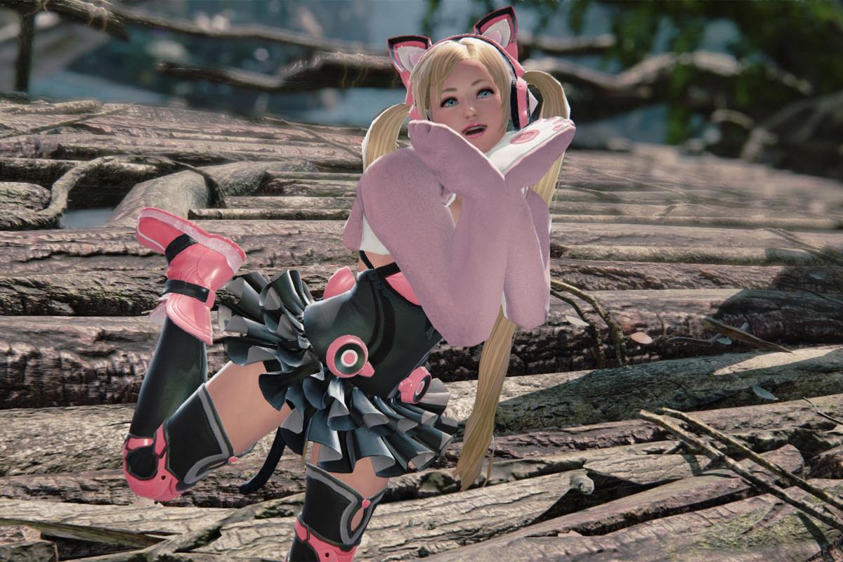 Lucky Chloe is the cutest Tekken character ever