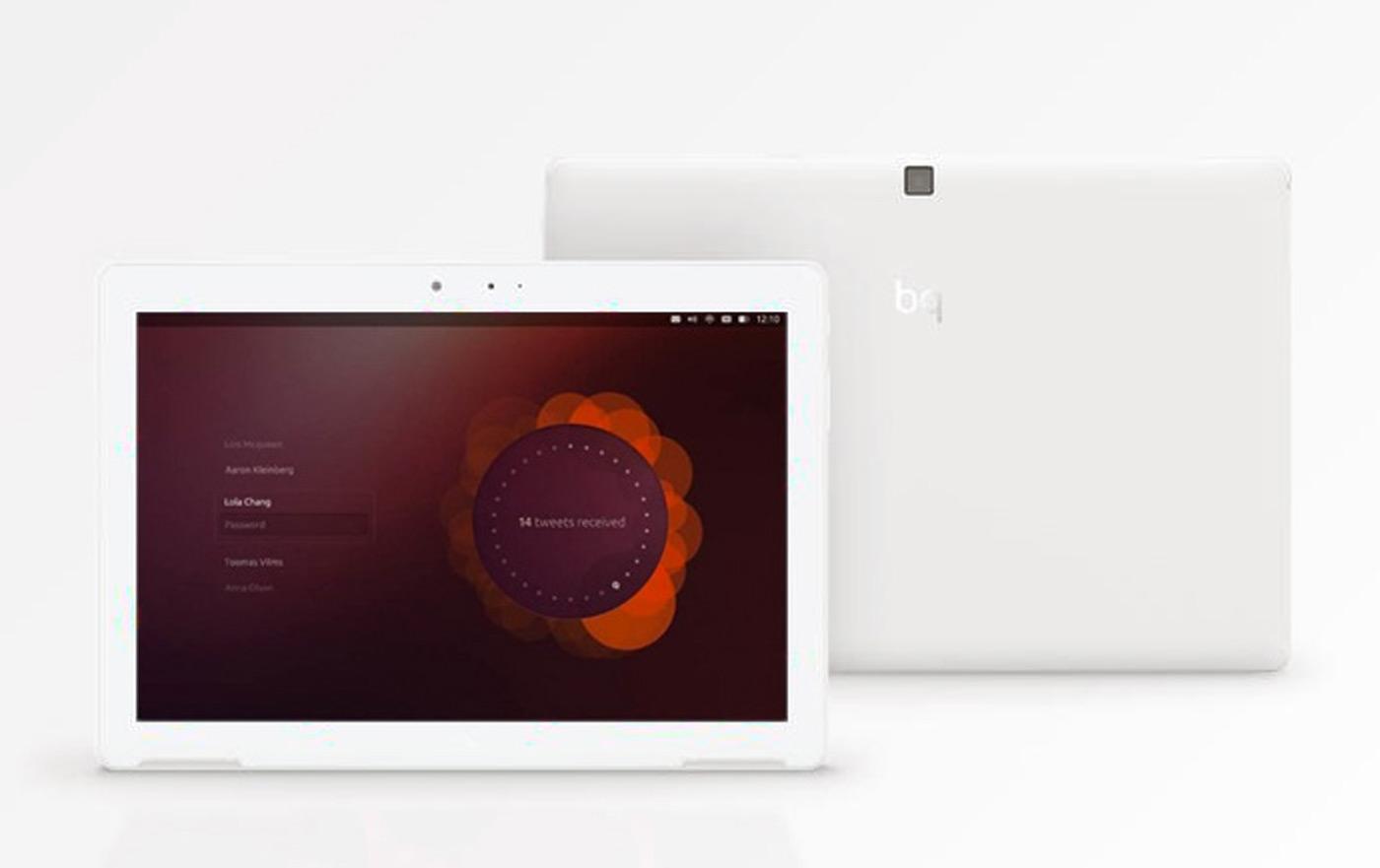 BQ zeigt ein Ubuntu-Tablet auf dem MWC