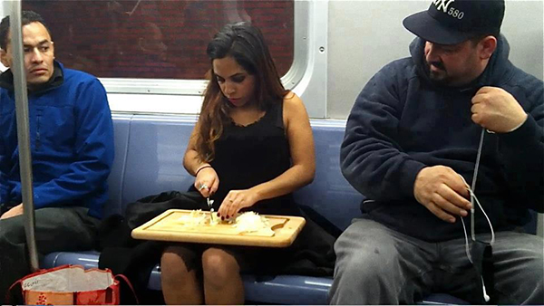 If You Do These Things On A Subway You're An Asshole