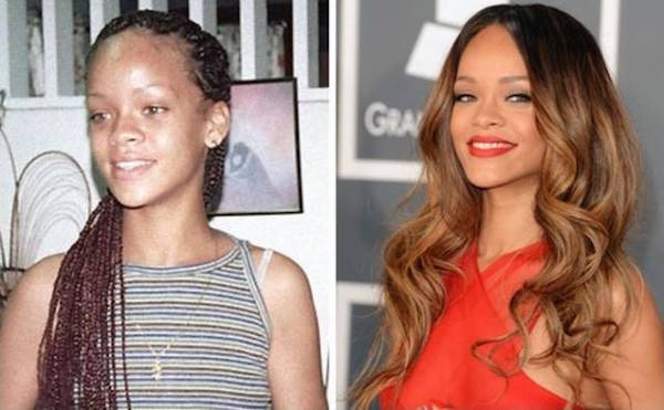 Celebs Then And Now