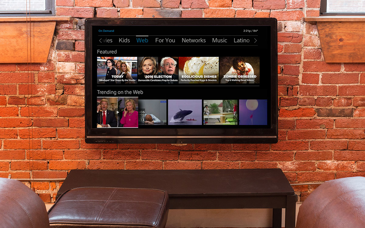Comcast puts more internet video on your X1 cable box