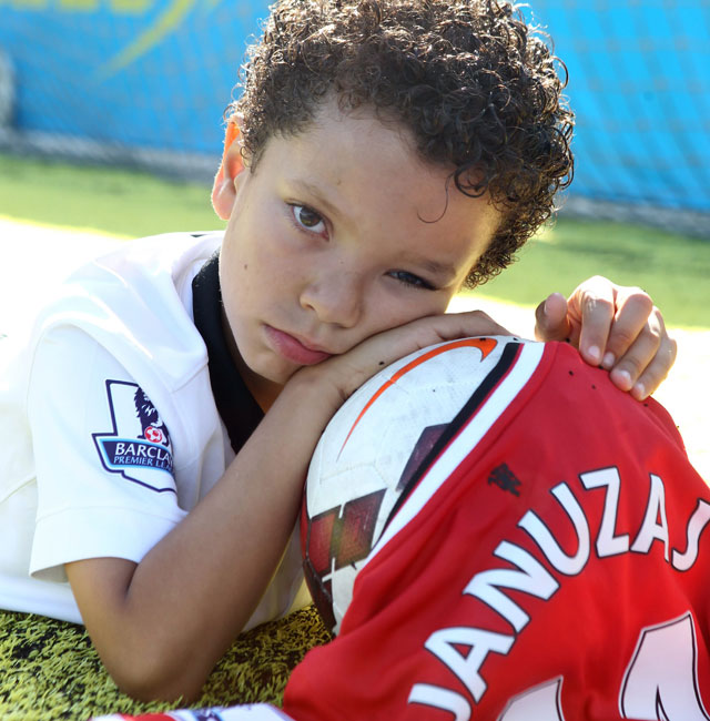 Young Manchester United fan's kit ruined after his favourite player Januzaj switched numbers
