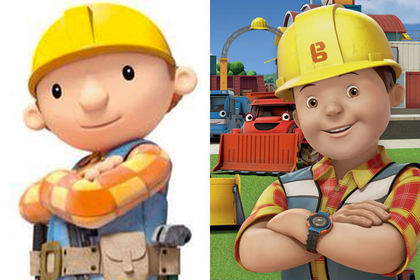 Bob the Builder's makeover angers fans
