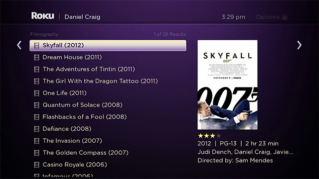 Roku 3 update lets you search for movies and more with a smartphone