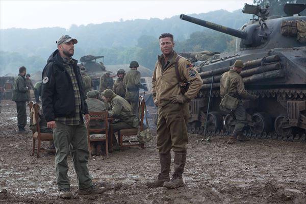 これが『フューリー』でナチに挑むブラッド・ピットと怒れるティーガー戦車だ!