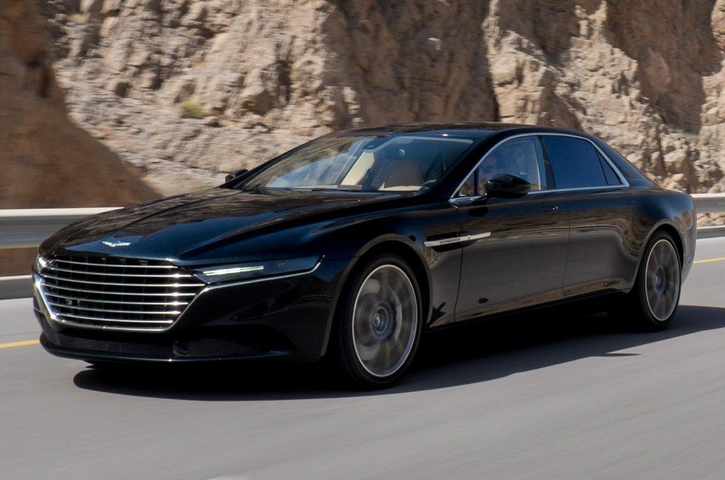 Aston Martin, Aston Martin Lagonda, AM Lagonda, der neue Aston Martin Lagonda, Aston Martin Lagona 2015, V12, Erlkönig, Spy shot, Bilder, Fotos