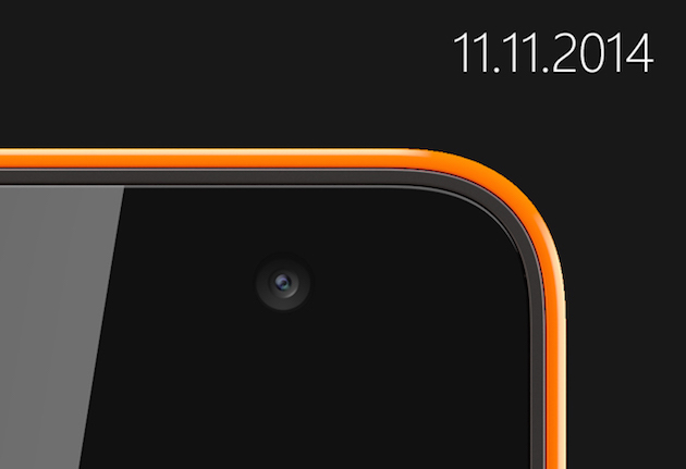 Microsoft will unveil its first Nokia-less Lumia on November 11th