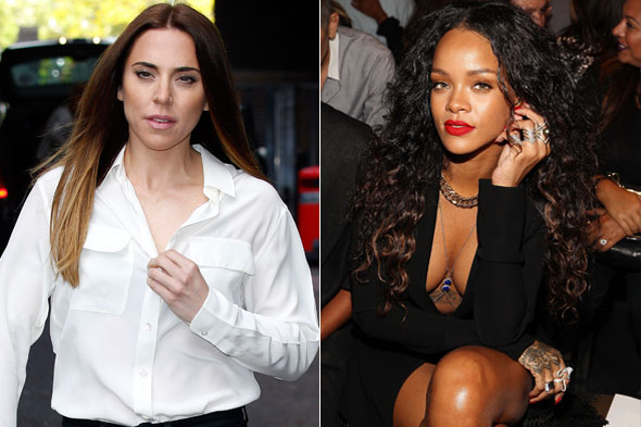Mel C bans daughter from watching raunchy Rihanna videos