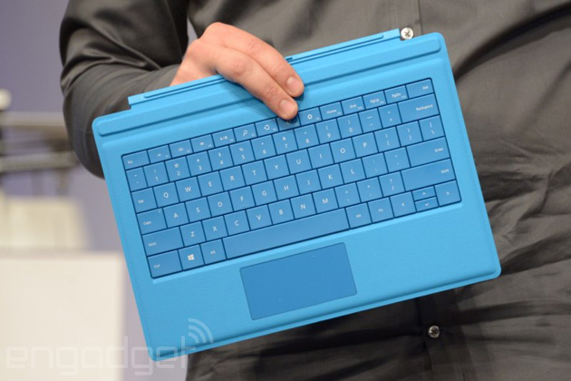Surface Pro 3's Type Cover