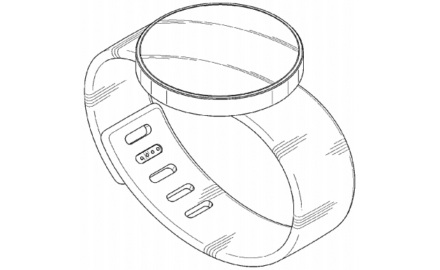 One of Samsung's round smartwatch patents