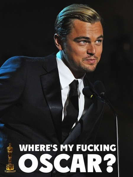 leonardo dicaprio oscar meme - photo #22
