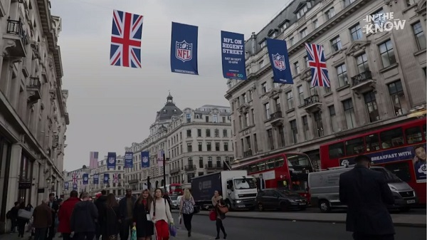 本日22時半から試合を生配信!NFLロンドン開催の歴史を振り返る【映像】