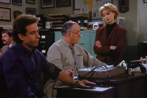 out there seinfeld plotlines, weird seinfeld episodes, the beard melrose place