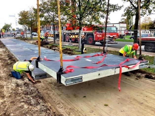 オランダで自転車用ソーラー道路の試験運用がスタート
