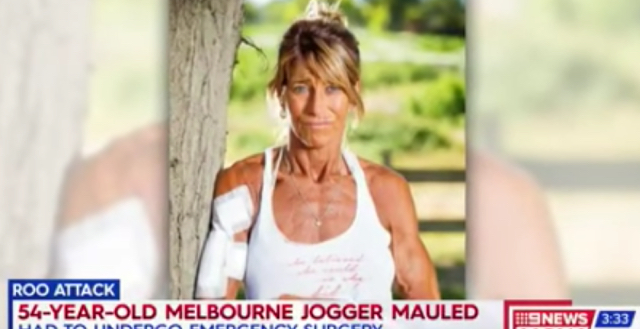 Woman faked her own death to stop rogue kangaroo attack