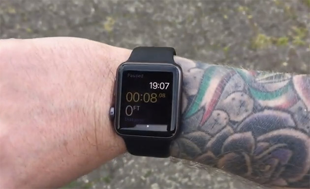 Apple Watch tattoo issues
