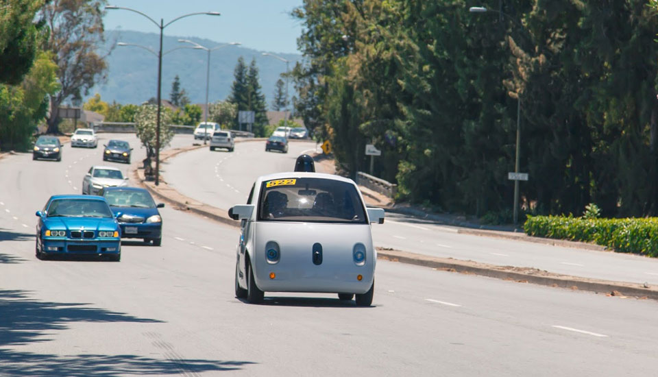 Google's unique self-driving cars hit the streets of San Francisco