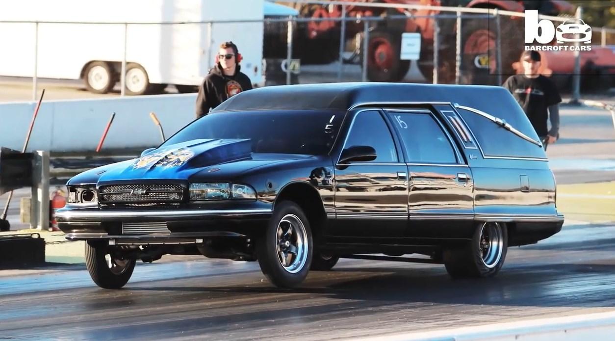 Weltrekord: Der schnellste Leichenwagen der welt