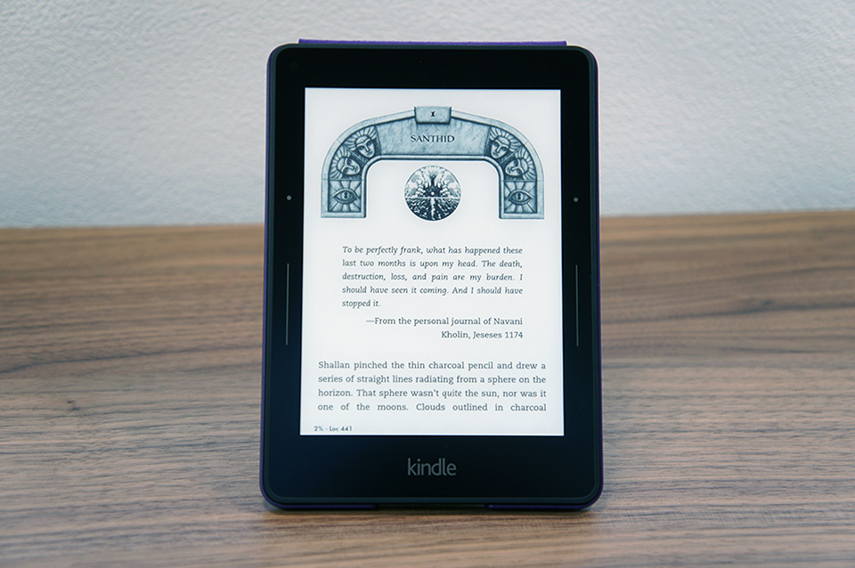 Amazon's $200 Kindle Voyage is the Rolls-Royce of e-readers