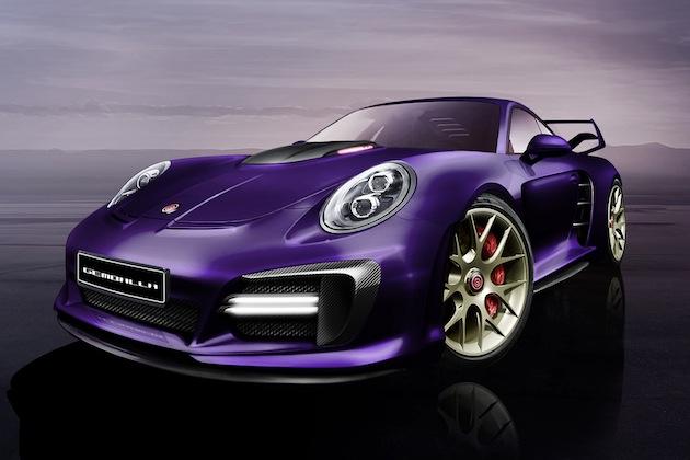 ゲンバラ、ポルシェ「911ターボ」をワイルドにチューンした「アヴァランシェ」をジュネーブ・モーターショーに出展
