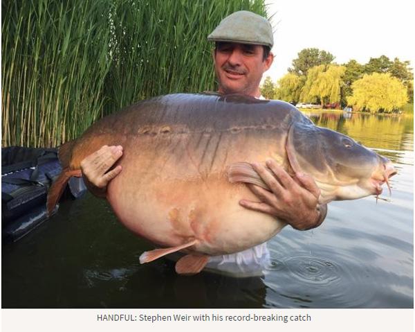 約50Kgの巨大コイを捕獲!巨大魚を追う釣りキチ達が集う「コイ釣り」がアツすぎる
