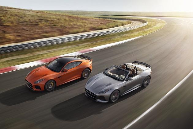 さらに速く、軽くなったジャガー「Fタイプ SVR」 価格は1,779万円から