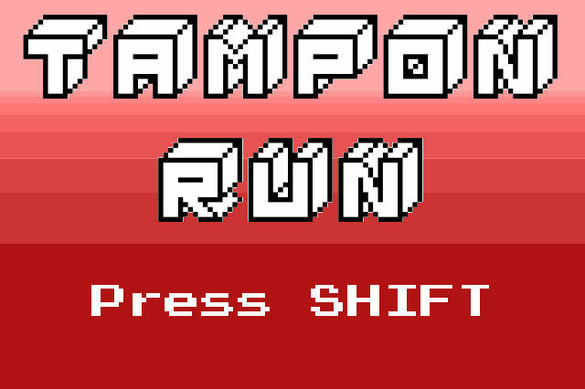tampon run video game