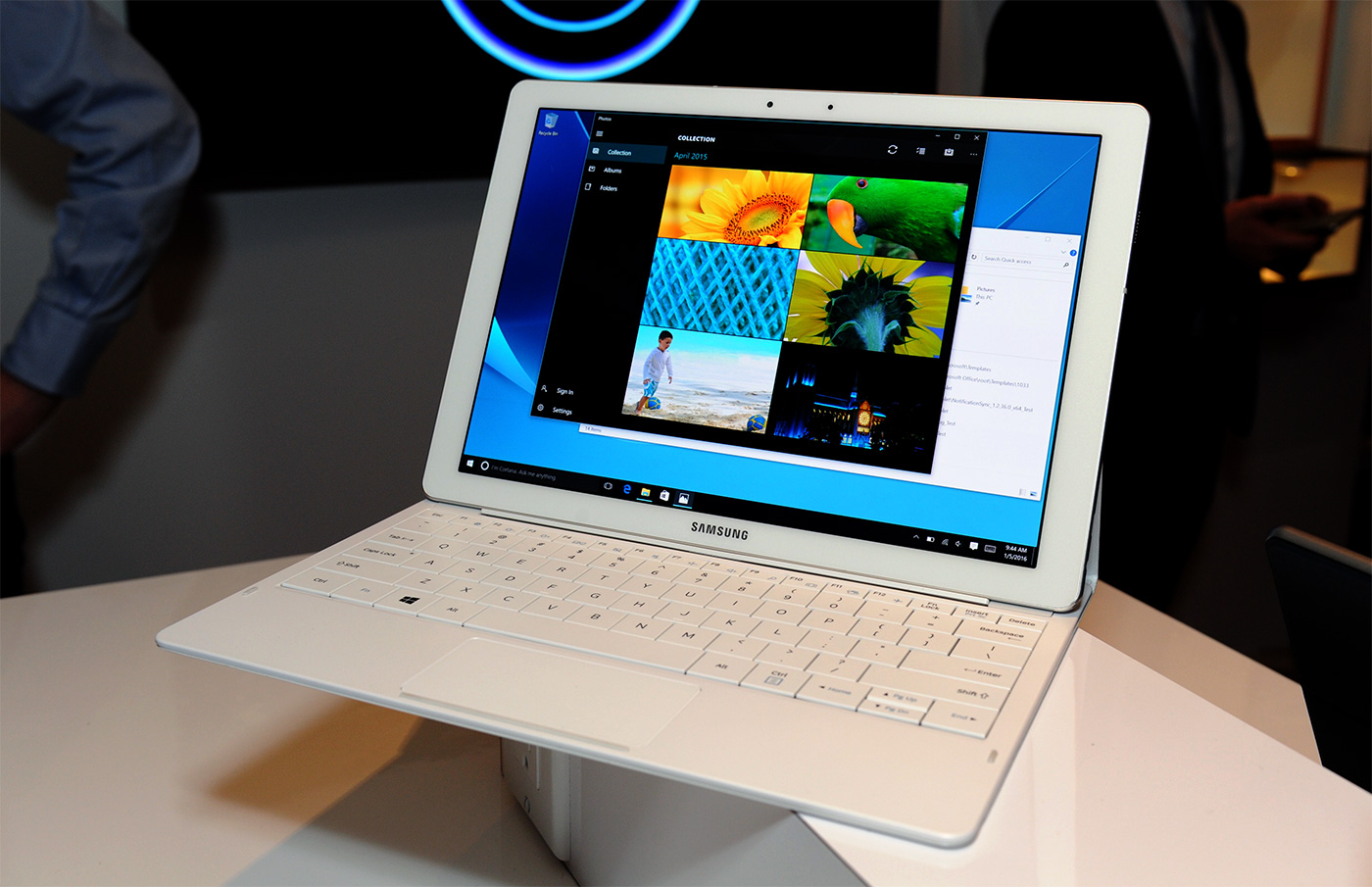 Samsung Galaxy TabPro S: Windows 10 en Super AMOLED de 12 gloriosas pulgadas