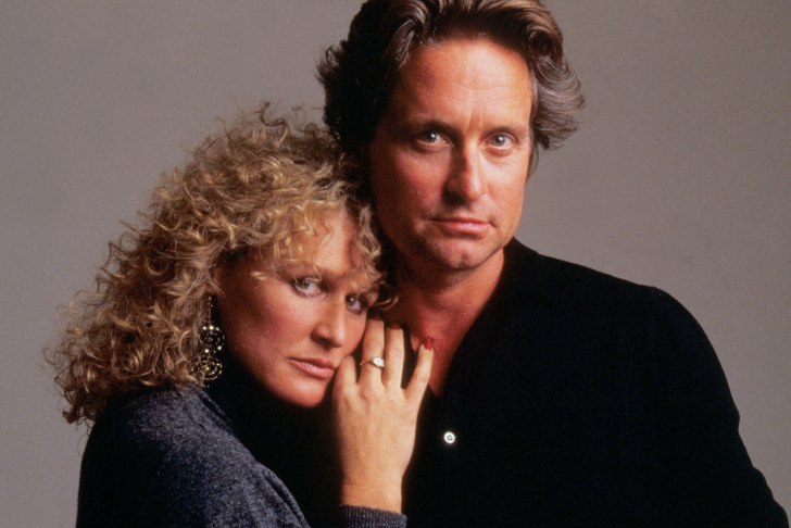 Mandatory Credit: Photo by Moviestore Collection/Rex/REX USA (923555a)<br /> Fatal Attraction,  Glenn Close,  Michael Douglas<br /> Film and Television