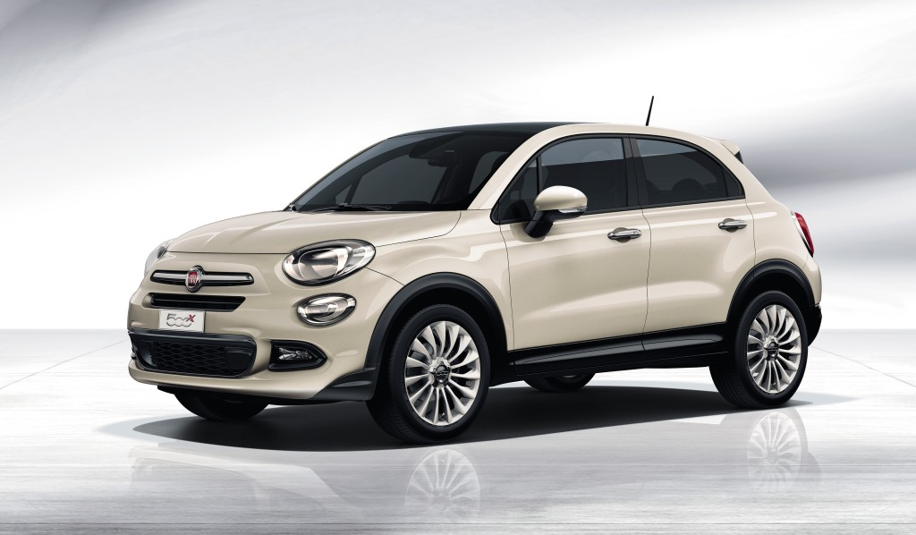 Fiat 500 X, Fiat 500X, Fiat 500X Cross,  breaking, crossover,  fiat, fiat 500 x, Fiat 500X, fiat news, Fiat500x,   fotos, Jeep, Jeep Renegade, Kompakt SUV, Mini-SUV, Paris Auto Salon, Pariser Auto salon,, Fiat 500 crossover