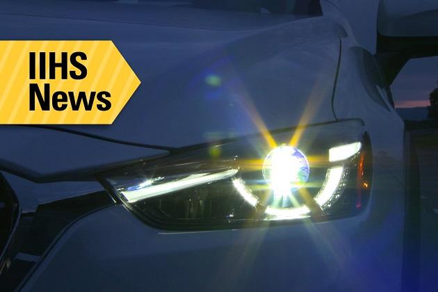 【ビデオ】米国IIHS、「コンパクトSUVのヘッドライトは眩し過ぎる」と酷評