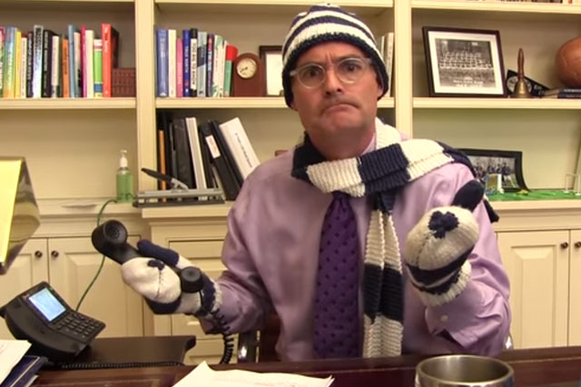 Headteacher's Frozen inspired snow day announcement goes viral