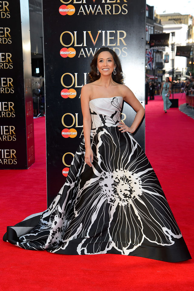 LONDON, ENGLAND - APRIL 13:  Myleene Klass attends the Laurence Olivier Awards at The Royal Opera House on April 13, 2014 in London, England.  (Photo by Ben Pruchnie/WireImage)