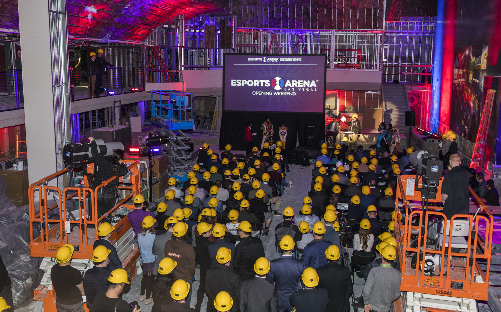 photo image The Las Vegas strip's first eSports arena opens in March