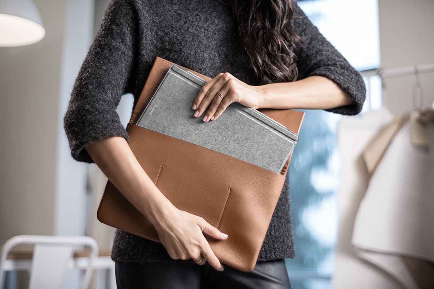Microsoft Introduces Alcantara Accessory, A Luxurious Keyboard For Surface Pro