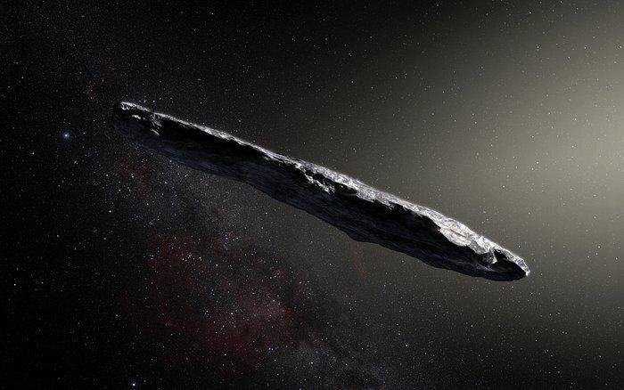 Este extraño asteroide interestelar se ha colado en nuestro Sistema Solar