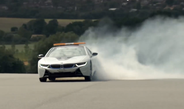 BMW i8 ความปลอดภัยวิดีโอ Qualcomm รถวิศวกร