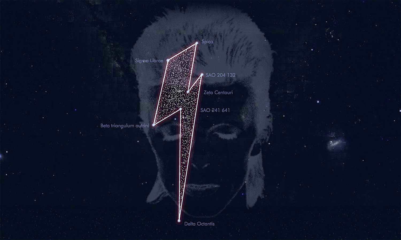 Starman: David Bowie bekommt eigenes Sternenbild
