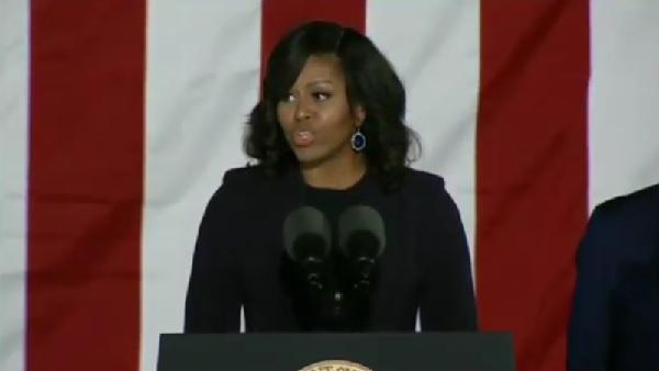 SNSで早くも「2020年にはオバマ夫人を次期大統領に」との声